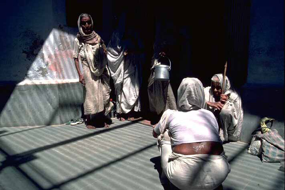 Vrindavan Widows,India